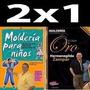 2x1 Molderia! Libro De Oro + Mold. Niños Hermenegildo Zampar