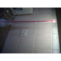 Trompeta Plastica De Cotillon Blanca Y Roja 60 Cm