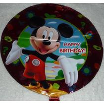 Cotillon Mickey Minnie Globos Metalizados Varios Modelos