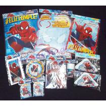 Hombre Araña Spiderman Combo Cotillon 20 Chicos Infantil