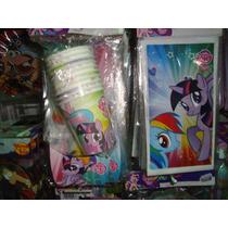 Combo Cotillon Oficial Little Pony Para 20 Nenes. Unicoooo