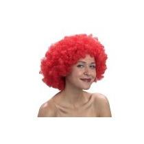 Peluca Afro Roja - Peluca Disco Años 70