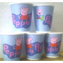 Vasos Peppa Pig, Plasticos Descartables!!!!