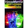 Vasos Luminosos Personalizados X 100 Unidades