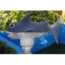 Tiburon Gorro En Goma Espuma - Cotillon