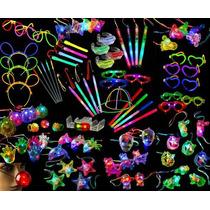 Cotillón Luminoso Combo 371 Artículos!!!! 180 Personas Pack