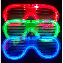 Cotillon Anteojos Super Luminosos Led-neon Flo X 10 Unidades