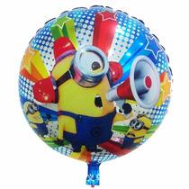 Globos Minions Metalizados 45 Cm Cumpleaños Fiestas