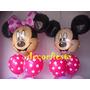 Mickey Minnie Ambientacion Tematica Decoracion Globos Helio