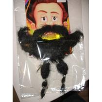 Piratas Del Caribe-barba- Bigote-postizo-adhesivo-mercadopag