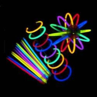 200 Pulseras Luminosas Quimicas Glow. Cotillón Fiestas