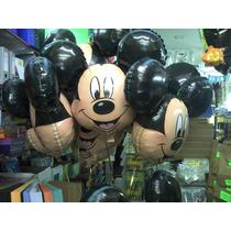 Globos Cabeza De Mickey 24 Pulgadas Con Helio