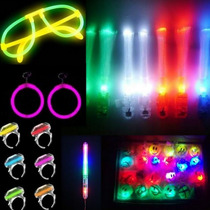 Pack Cotillon Luminoso Y Fluo Super Especial Completisimo !