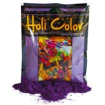 Holi Color Polvo Violeta X50grs.cotillon En Zona Oeste