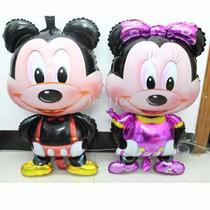 Pack Globo X 10 Mickey Caminante, Minnie, Gigante Kity, Arañ