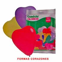 12 Globos Corazones - Hoy Super Oferta En La Golosineria