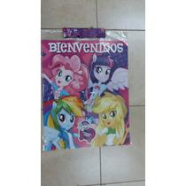 Cartel Bienvenidos De Equestria Girls