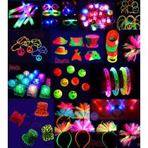 Cotillón Luminoso 310 Artículos Distinto Y Divertido Combo