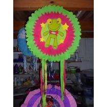 Piñatas Fronzen Doctora Juguetes Sapo Pepe Mickey Y Mas!!!