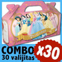 Cajita Golosinera Princesas Souvenir Infantil Combo X 30