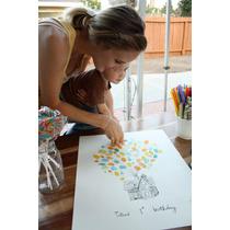 Árbol De Firmas Libro De Firmas Un Año Cumpleaños Infantiles