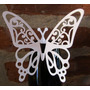 Mariposas Caladas Papel Perlado Para Decorar Copas Y Tragos