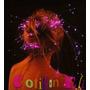 Cotillon Extensiones Luminosas Con Hebilla Mechas Leds X 6 U