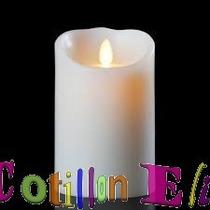 Cotillon 12 Velas Luminosas Efecto Desgaste.