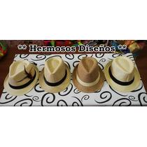 Sombrero Panamá - Australiano - Estilo Dandy - Excelentes !!
