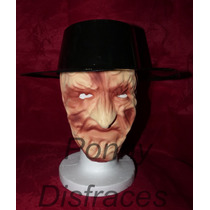 Sombrero Y Mascara De Freddy Krueger