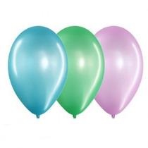 Globos De 5 Perlados Colores Surtidos
