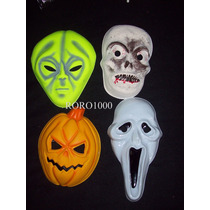 Halloween 50 Mascaras Monstruosas Plasticas Envio Gratis Cf