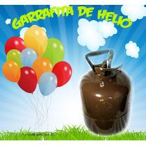 Oferta! Garrafa Gas Helio Grande! Infla 25 Globos De 12 !!!