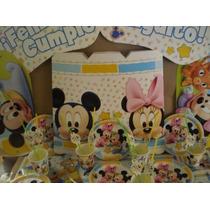 Mickey/minnie Bb 50 Chicos Con Regalos