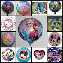 Globo X 10 Disney Souvenirs Mickey Princesas Zou Henry Monst