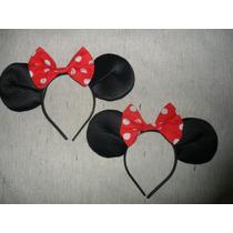 Vinchas Minnie/ Mickey Cotillón X 10 Unidades