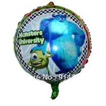 Globo Metalizado De Monster Inc De 18 Pulgadas