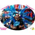Espaldar + Vincha Plumas Comparsa Carnaval - Excelentes!