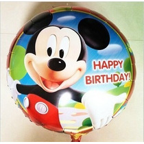 Pack X 10 Caminante Globo Gigante Mickey, Disney Minnie
