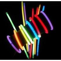 Pulseras Luminosas Quimicas Cotillon De Neon X 50!!!!