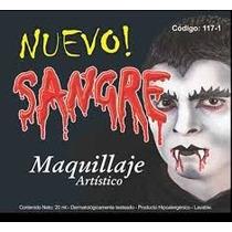 Maquillaje Sangre Halloween Dracula Disfraz Pintafan