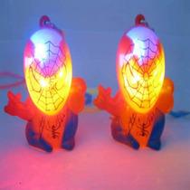 15 Colgantes Spiderman Luminosos A Led Hombre Araña