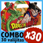 Dragon Ball Z Cajita Bolsita Souvenir Infantil Combo X 30