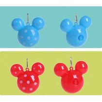 15 Colgantes Cabezas Mickey Luminosos A Led