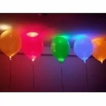 Globos Led! Pack 50 Unidades