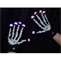 Guantes Luminosos Esqueleto X Par 3589-57 Tienda Fisica