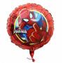 Globo Metalizado Hombre Araña Spiderman Original Deco De 18
