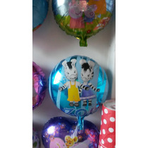 Pack 20 Globos Peppa Pig-frozen-sofia-minnie-mickey-cars-vs