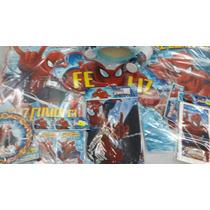 Cotillón Completo Spiderman / Hombre Araña Para 20 Nenes!!!
