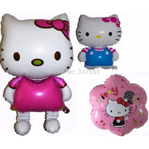 Globo Gigante Souvenirs Kitty Caminante X 10 Inflable Cotil